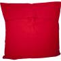 Coussin rouge 65x65 Otomi ViBamos