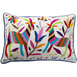 Coussin multicolor 40x60 Otomi ViBamos