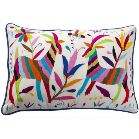 Coussin multicolor 40×60 Otomi ViBamos