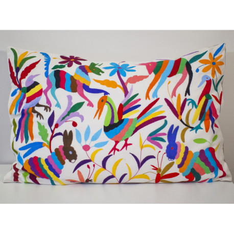 Coussin multicolor 80×60 Otomi ViBamos