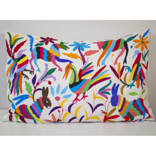 Coussin multicolor 80x60 Otomi ViBamos