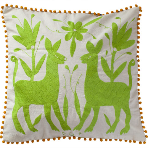 Coussin vert 50x50 - Ref co006o50x50