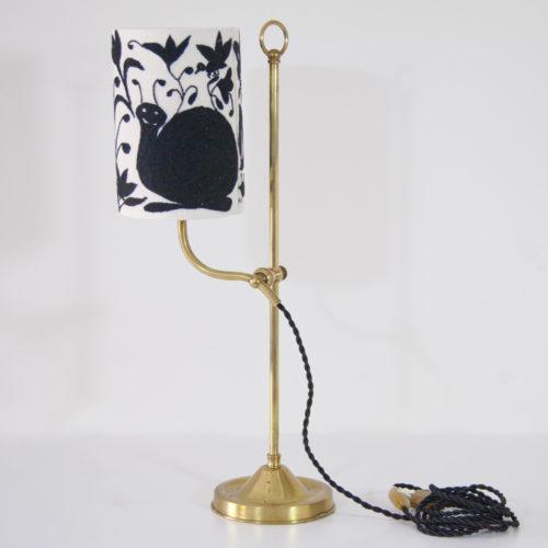 Lampe Caracol ViBamos tissu Otomi mexicain